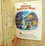 Mickey's Christmas Carol First Page