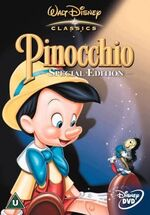 Pinocchio Special Edition 2003 UK DVD