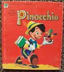 Pinocchio whitman book