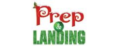Prep and landing logo