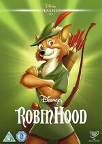 Robin Hood UK DVD 2014 Limited Edition slip cover
