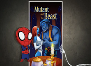 Spiderman Mutant and the Beast