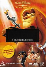 The Lion King 2004 AUS