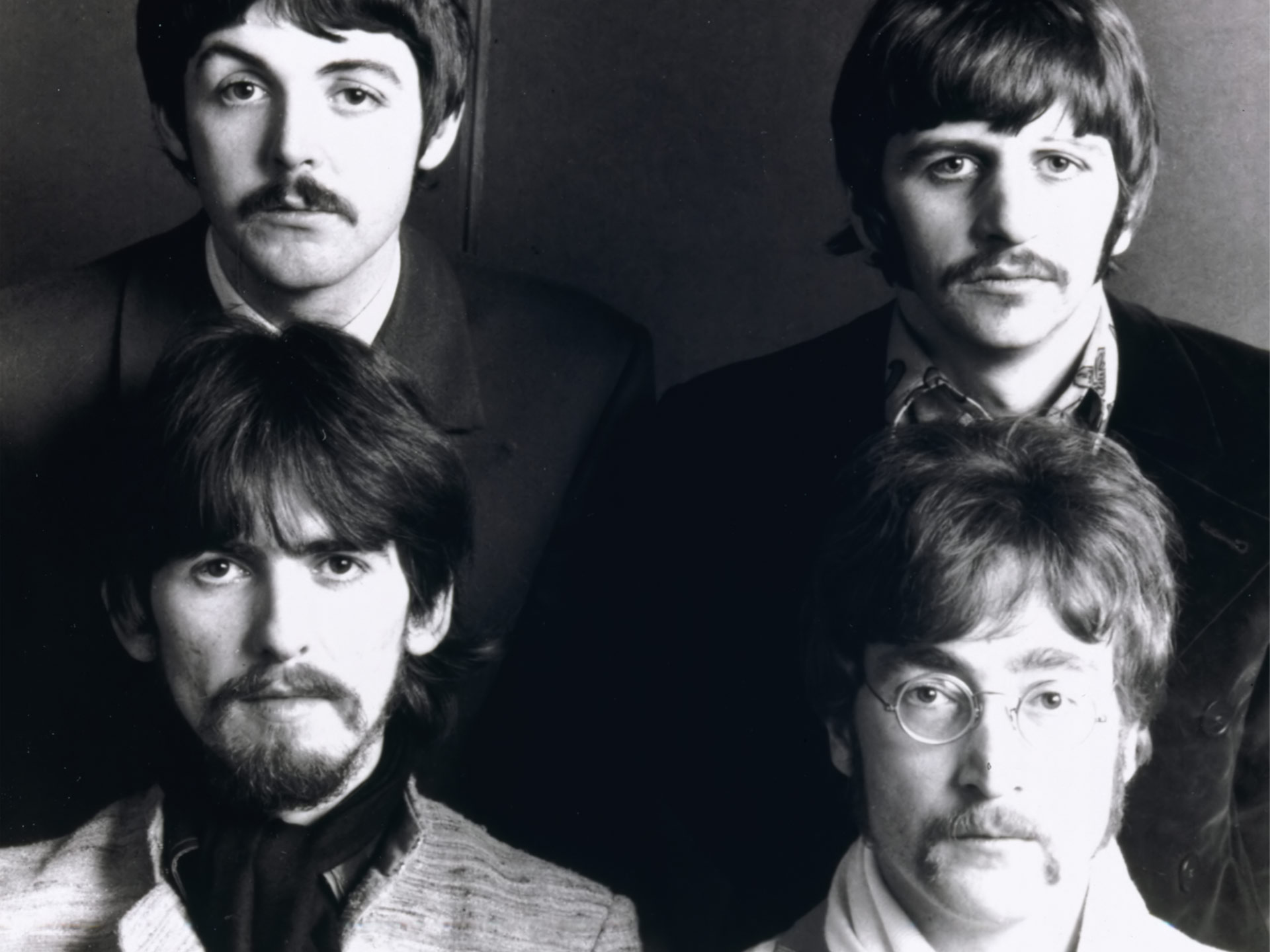 Beatles facial hair styles