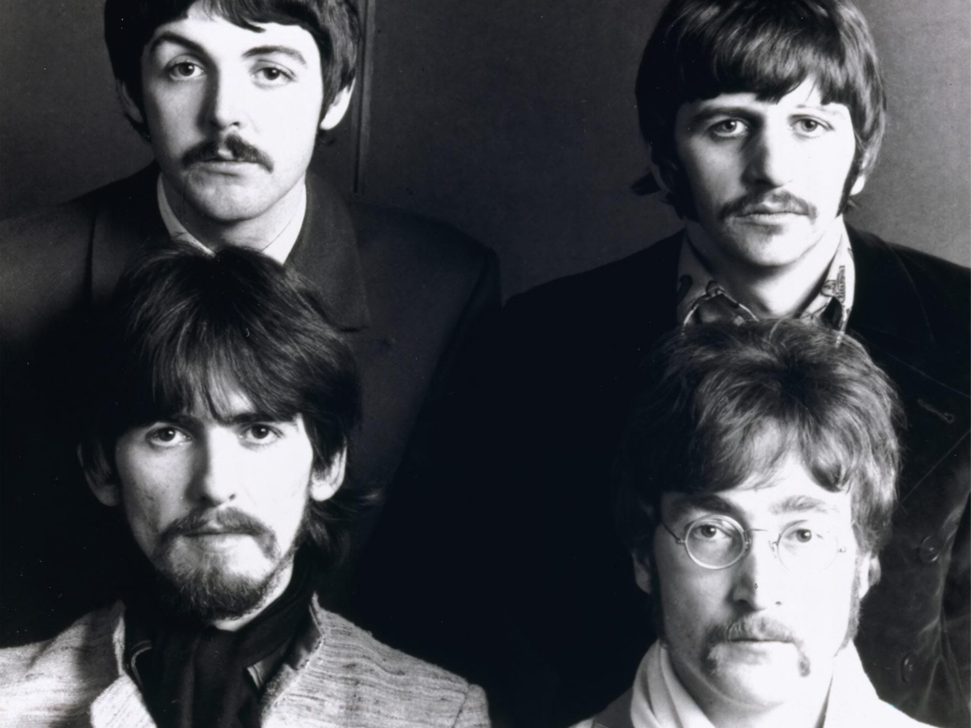 Beatles facial hair styles