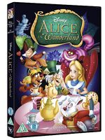 Alice in Wonderland UK DVD 2014