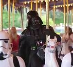 Darth Vader on Carosel