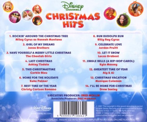 filedisney channel christmas hits backjpg - Disney Channel Christmas