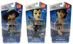 Disney infinity 2.0 maleficent aladdin jasmine figurines