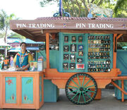 Disney pin kiosk