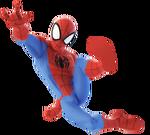 Spider-Man DI Webslinging Render