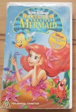 The Little Mermaid 1999 AUS Rental VHS