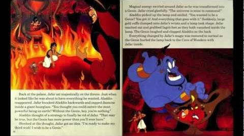 Aladdin Read Along - Book and Cassette (Repost)