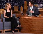 Brie Larson visits Jimmy Fallon