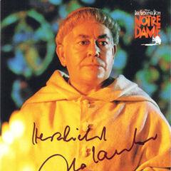 Carlo Lauber jako Archidiakon w musicalu