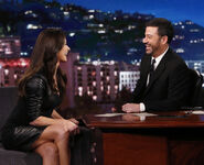 Catherine Zeta-Jones visits JKL