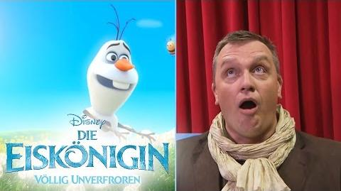DIE EISKÖNIGIN - VÖLLIG UNVERFROREN - Olaf träumt vom Sommer - Hape Kerkeling - Disney