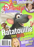 Disney adventures november 2007