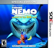 Finding Nemo Escape to the Big Blue Boxart (Special Edition)
