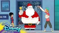 Globby Holiday Song! Big Hero 6 The Series Disney Channel