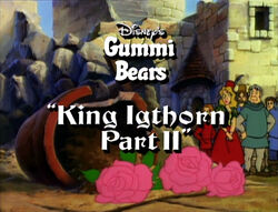Gummi Bears King Igthorn Part 2 Title Card