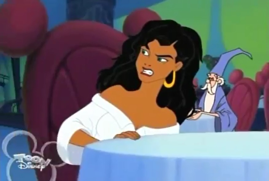 Image House Of Mouse Esmeralda And Merlin Cameos From
