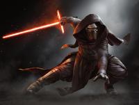 Kylo Ren und sein Lichtschwert