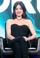 Lucy Hale at Winter TCA Tour