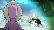 McFist punches snowman