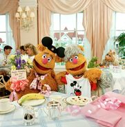 Muppets at Walt Disney World Fozzie and mom