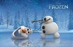 Olaf getting his head