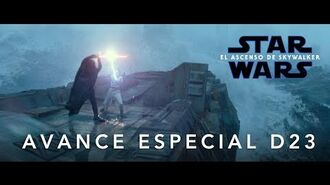 Star Wars El Ascenso de Skywalker – Adelanto Especial D23 – HD
