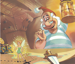 Tink&Smee-Peter Pan's Little Golden book (1952)
