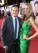 Walt Becker & wife Lindsay Old Dogs premiere