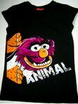 Asda shirt animal hands