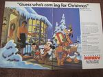 Disney Channel Christmas 1984 Magazine Ad