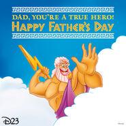Fathers Day Zeus