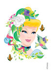 Glitter-cinderella-disney-temporary-tattoo