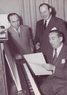 Jerry Livingston with Mack David and Al Hoffman