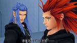 KHII - Saix and Axel
