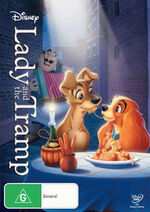 Lady and the Tramp 2012 Australia DVD