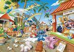 Lilo & Stitch Hawaiian Market puzzle