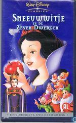 Snow White and the Seven Dwarfs 2001 Dutch VHS
