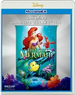 The Little Mermaid Japan MovieNEX