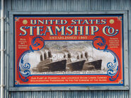 US Steamship Company Poster