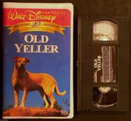 Walt Disney Film Classics - Old Yeller - 40th Anniversary Limited Edition - Front and Tape