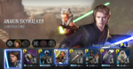 Anakin Skywalker and Ahsoka Tano Force Arena