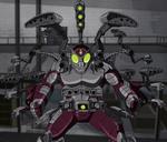 Beetle's full arsenal