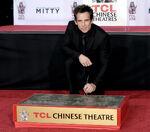 Ben Stiller Chinese Theatre Handprint ceremony