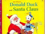 Donald Duck and Santa Claus (Little Golden Book)